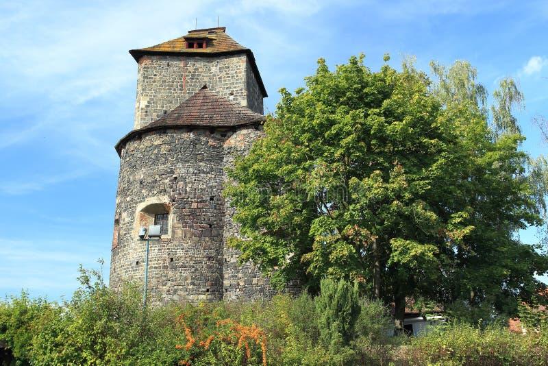 Castello di Tynec nad Sazavou fotografia stock