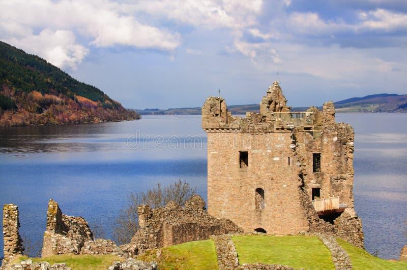 Download Castello Di Urquhart In Scozia Fotografia Stock - Immagine di portello, stronghold: 30825756