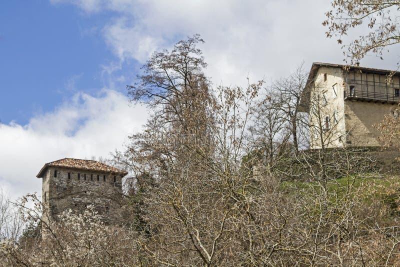 Castello di Vigolo royalty free stock image
