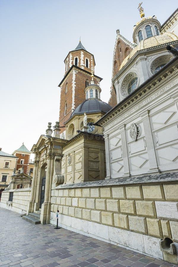 Castello di Wawel fotografie stock libere da diritti