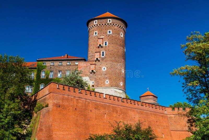 Castello di Wawel a Cracovia, Polan fotografie stock libere da diritti