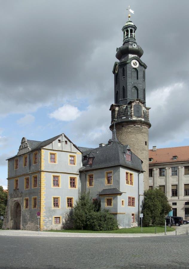 Castello di Weimar immagini stock libere da diritti