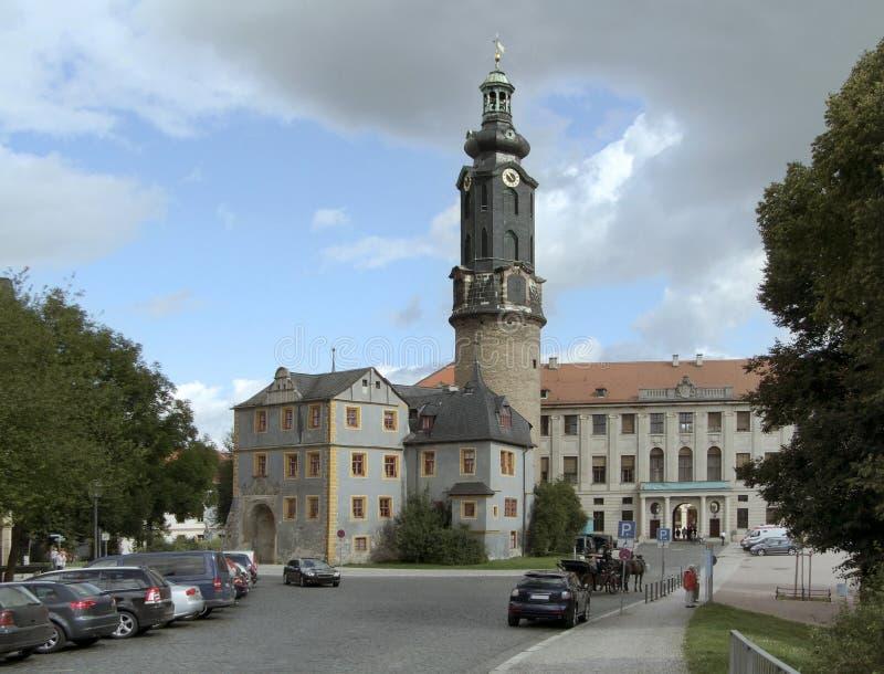 Castello di Weimar fotografia stock
