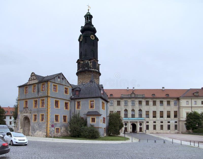 Castello di Weimar immagine stock
