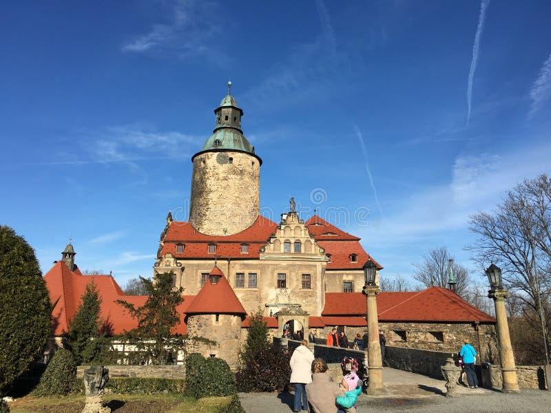 Castello di Zamek Czocha fotografia stock