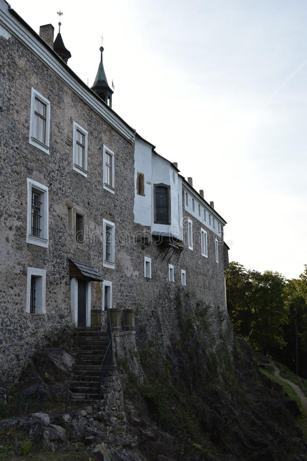 Castello di Zbiroh, repubblica Ceca immagini stock libere da diritti