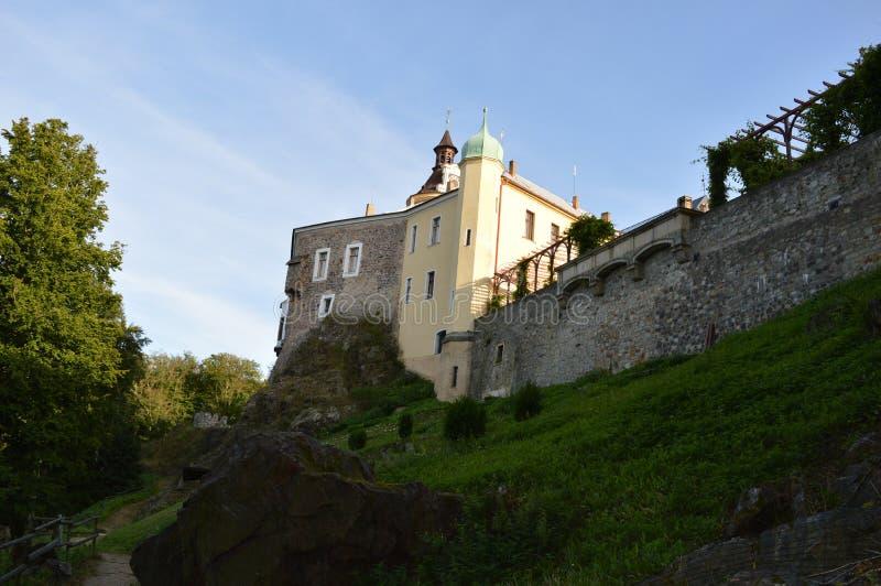 Castello di Zbiroh, repubblica Ceca fotografia stock libera da diritti