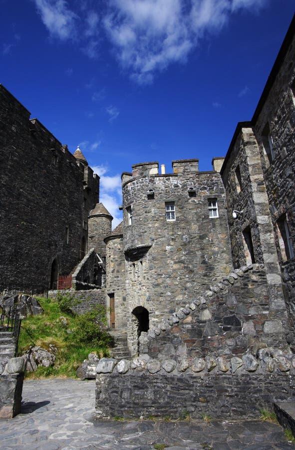 Castello donan eilean interno immagine stock
