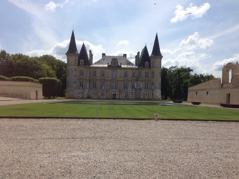 Castello du vin fotografia stock