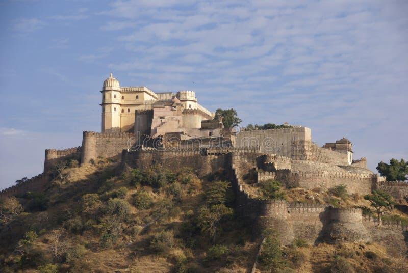 Castello e pareti fortificate fotografie stock libere da diritti