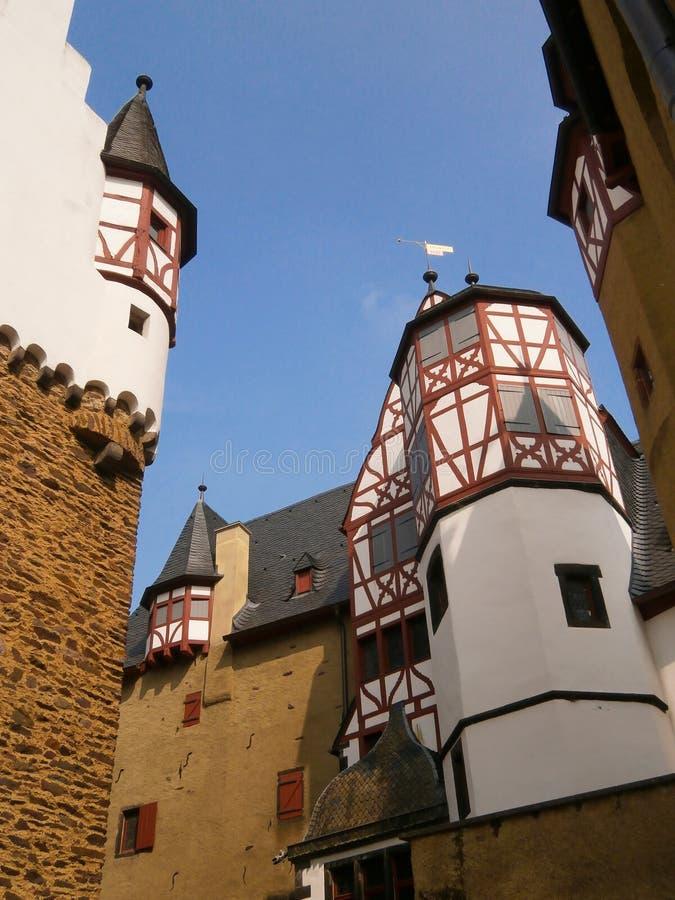Castello Eltz in Germania fotografia stock libera da diritti