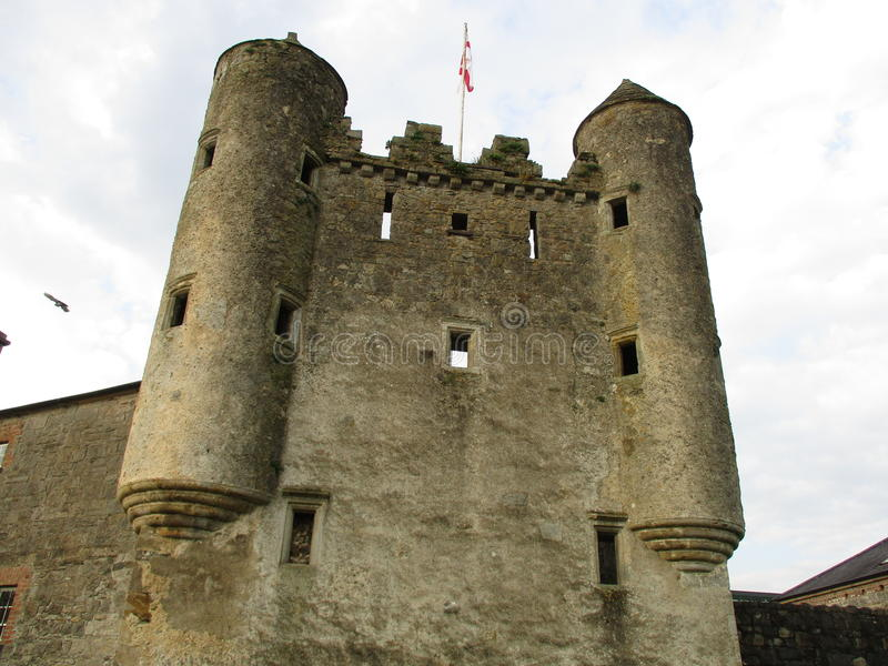 Castello Enniskillen N'Ireland di Maguires fotografie stock