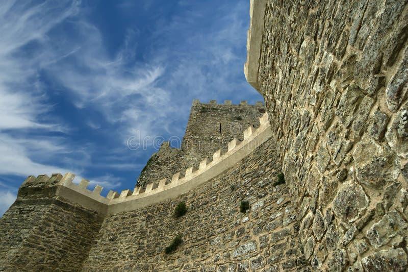Castello a Erice, Sicilia del Venus immagini stock