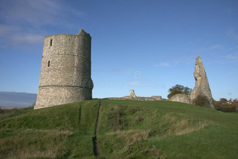 Castello Essex Inghilterra di Hadleigh fotografia stock libera da diritti
