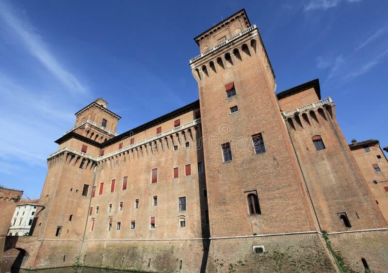 Castello Estense stock foto's