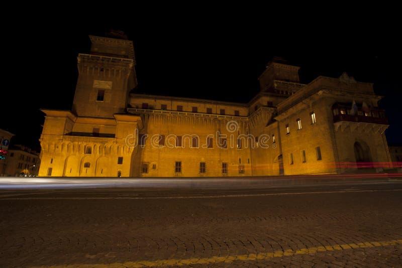 Download Castello Estense Slott I Ferrara, Italien Arkivfoto - Bild av fönster, italienare: 27281578