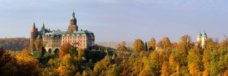 Castello Fuerstenstein immagini stock libere da diritti
