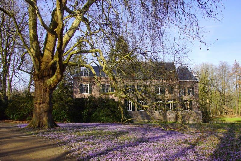 Castello Geldrop i Paesi Bassi fotografie stock libere da diritti