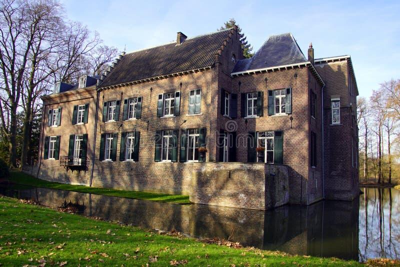 Castello Geldrop i Paesi Bassi fotografia stock