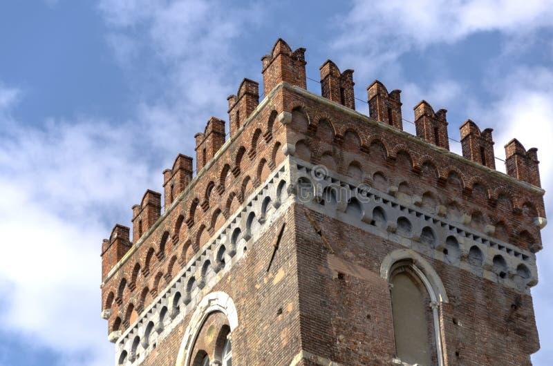 Castello a Genova fotografia stock libera da diritti
