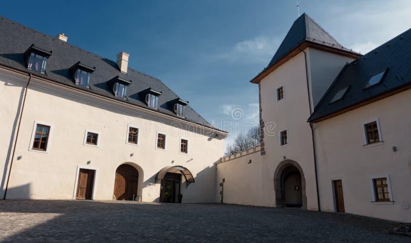 Castello grande Viglas immagini stock
