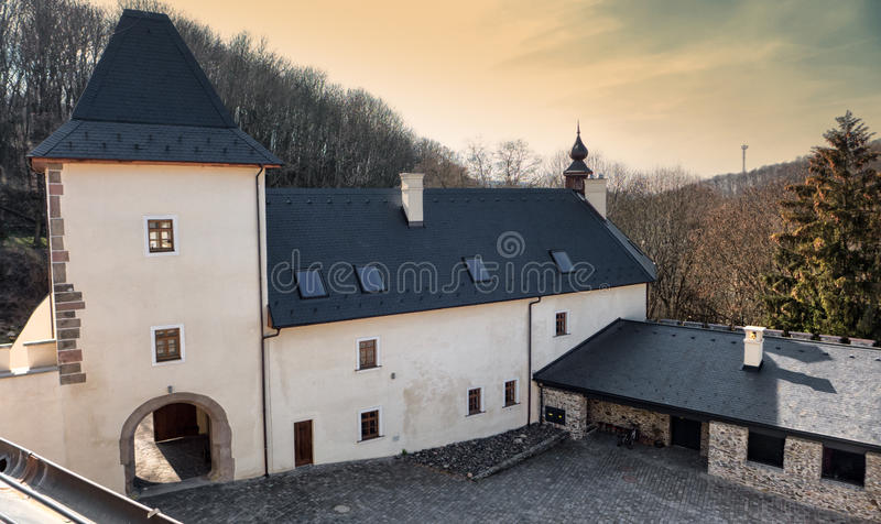 Castello grande Viglas immagini stock libere da diritti