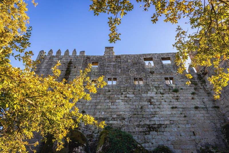 Castello a Guimaraes immagini stock libere da diritti