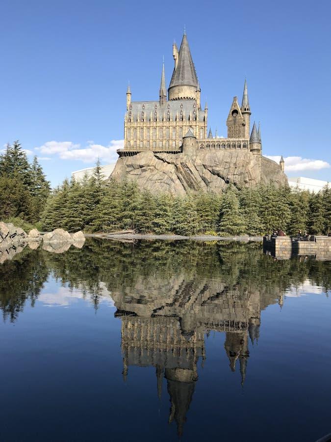 Castello: Harry Potter USJ fotografia stock libera da diritti