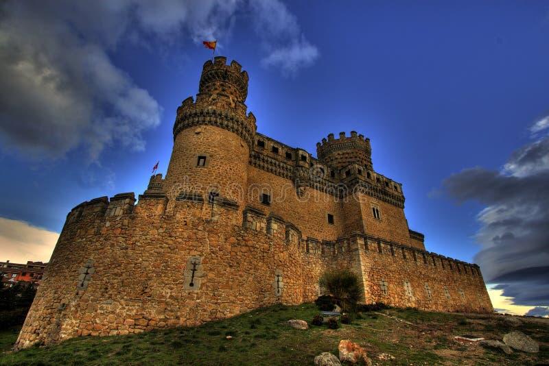 Castello HDR fotografia stock libera da diritti