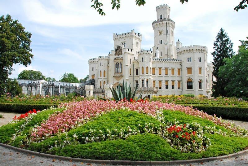 Castello Hluboka fotografia stock
