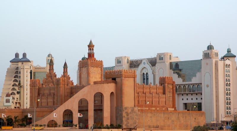 Castello Hotel.Eilat fotografia stock