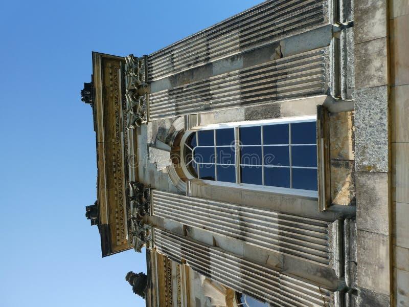 Castello Howard al sole fotografia stock