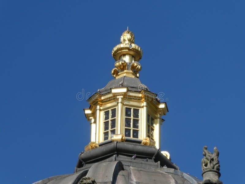 Castello Howard al sole fotografie stock