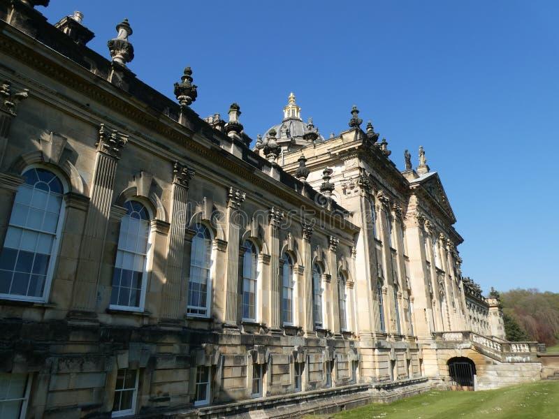 Castello Howard al sole immagine stock libera da diritti