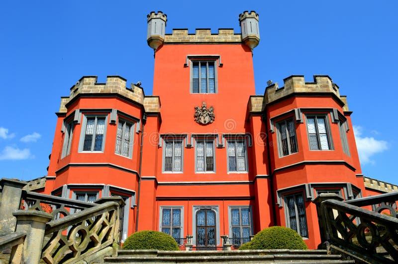Castello Hradek u Nechanice fotografie stock