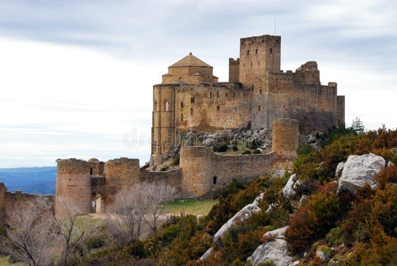Castello III di Loarre fotografia stock libera da diritti