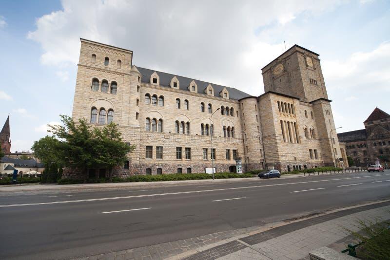 Castello imperiale a Poznan fotografia stock