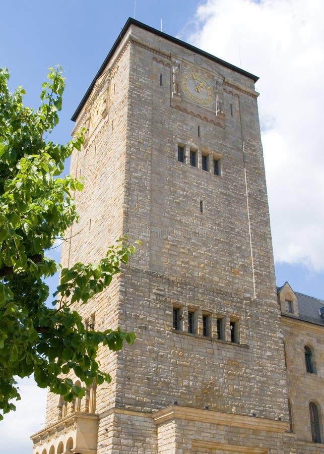 Castello imperiale a Poznan immagini stock libere da diritti
