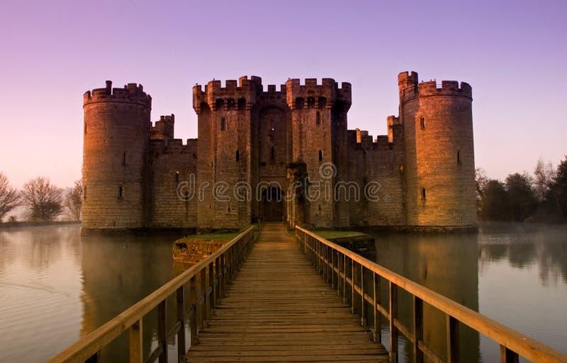 Castello inglese classico immagini stock