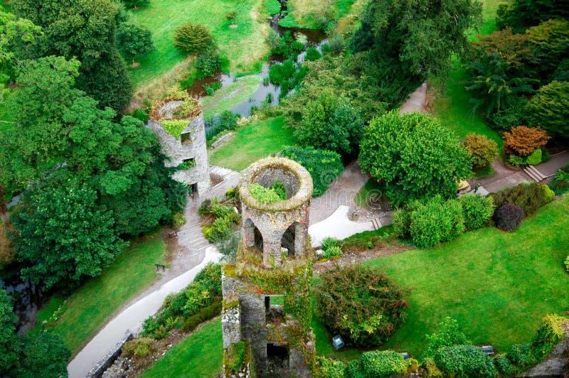 Castello Irlanda di lusinga fotografia stock libera da diritti