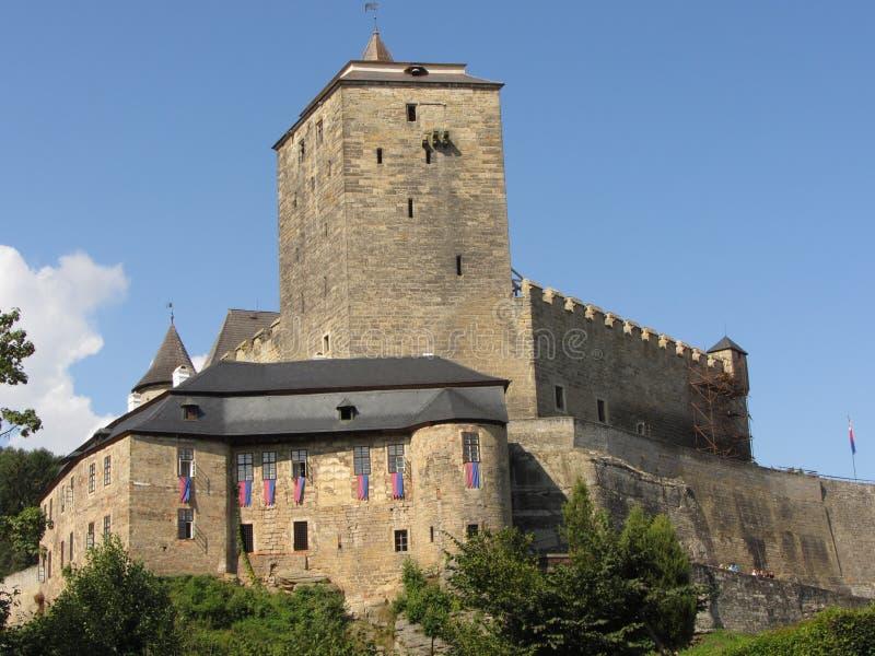 Castello Kost immagini stock