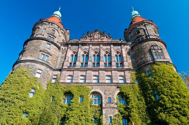 Castello Ksiaz immagini stock libere da diritti