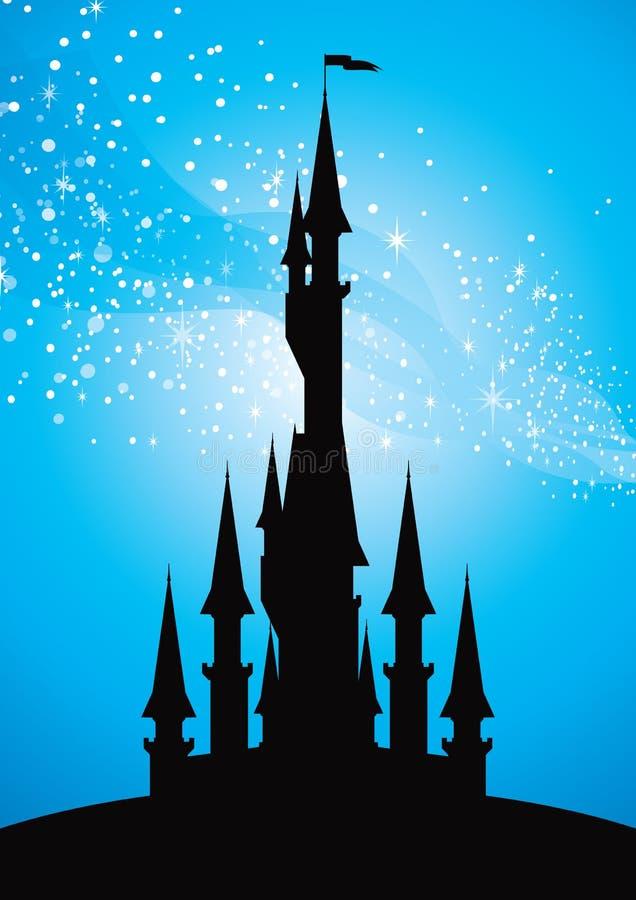 Castello leggiadramente royalty illustrazione gratis