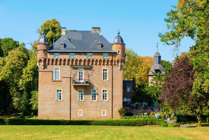 Castello Loersfeld in Kerpen, Germania fotografia stock