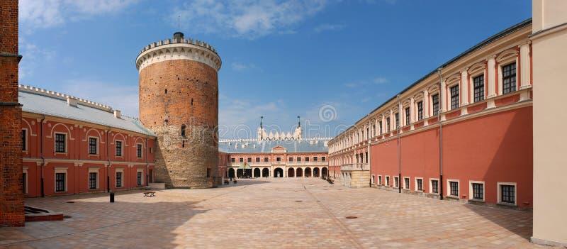 Castello a Lublino, Polonia fotografia stock