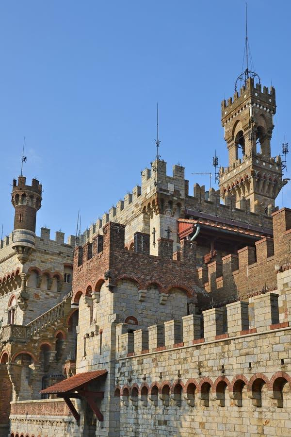 Castello Mackenziei Γένοβα, Ιταλία στοκ εικόνα
