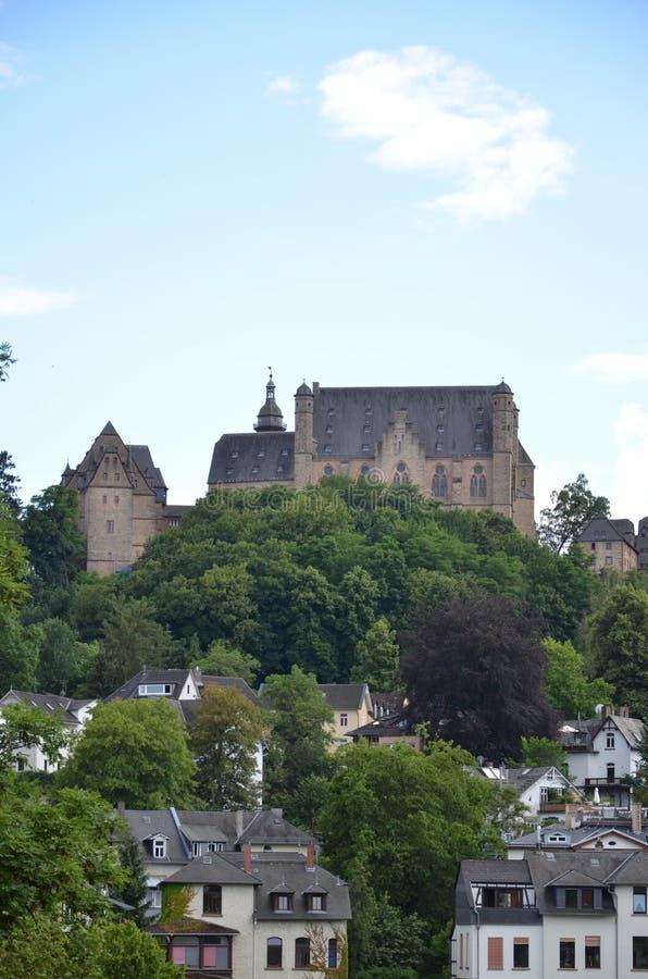 Castello in Marburg, Germania immagini stock