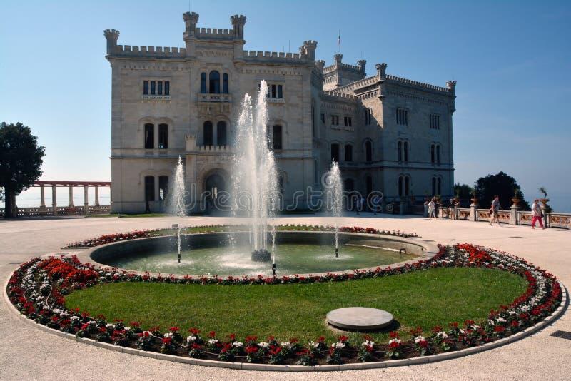 Castello Miramare fotografia stock libera da diritti