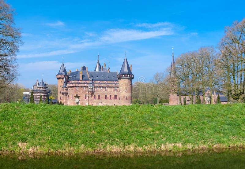 Castello nei Paesi Bassi immagine stock libera da diritti