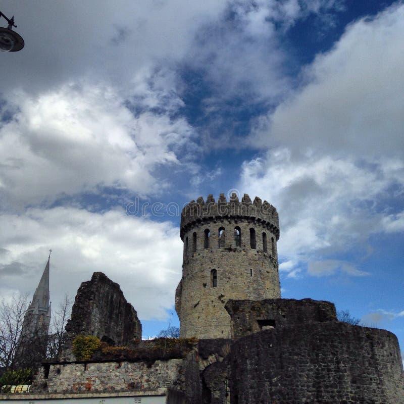 Castello nel nenagh Tipperary fotografia stock libera da diritti